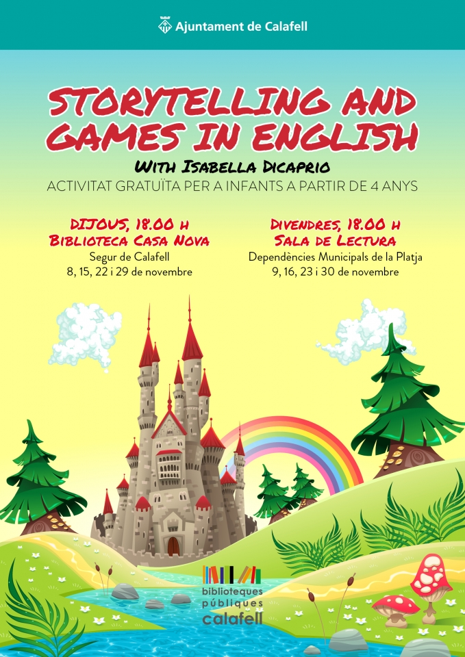 Storytelling and games in English