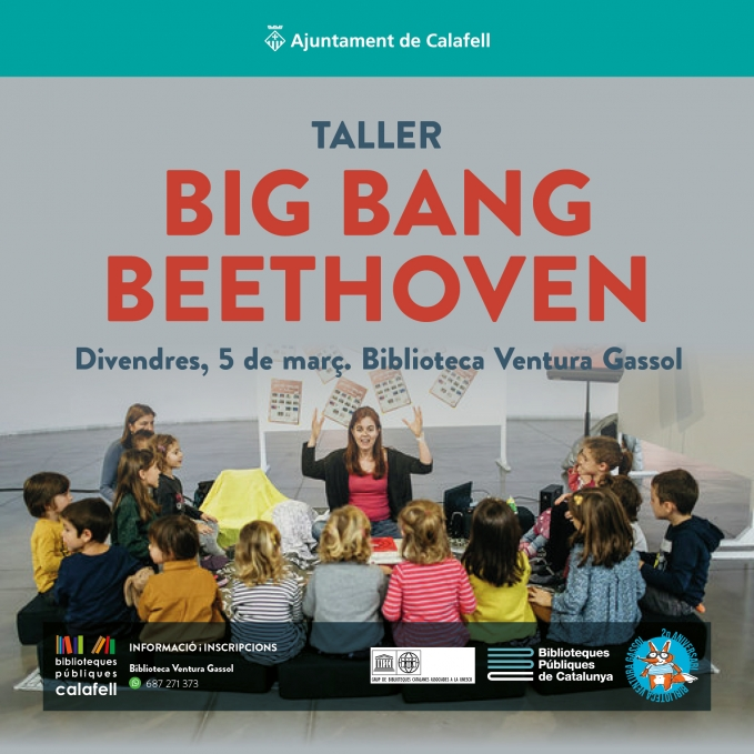 Taller per infants a la bblioteca, Bing Bang Beethoven